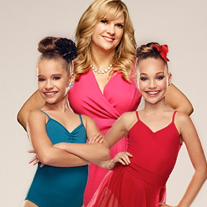 Melissa, Maddie and Mackenzie from Dance Moms
