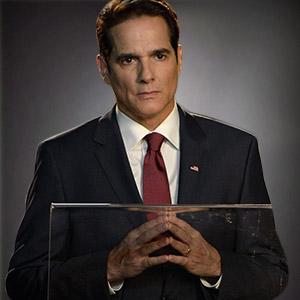 Yul Vázquez as President Thomas Westwood