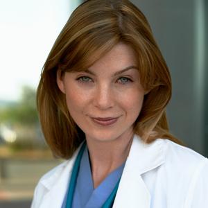 Ellen Pompeo as Dr. Meredith Grey