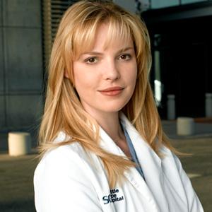 "Katherine Heigl as Dr. Isobel ""Izzie"" Stevens"