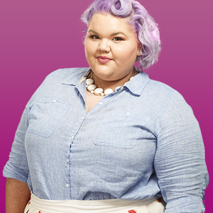Ashley Nell Tipton from Project Runway Season 14