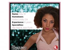 Season 2 Contestant Dance Cards