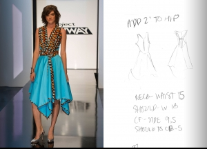 Project Runway Season 14 Episode 1 Sketches