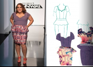 Project Runway Season 14 Episode 10 Sketches