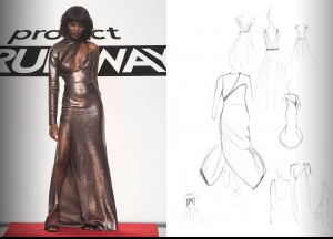 Project Runway Season 14 Episode 12 Sketches