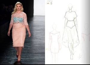 Project Runway Season 14 Episode 14 Sketches