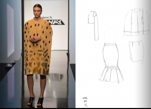 Project Runway Season 14 Episode 2 Sketches