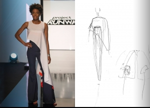 Project Runway Season 14 Episode 3 Sketches