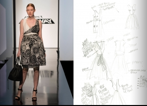 Project Runway Season 14 Episode 4 Sketches
