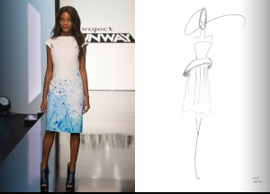 Project Runway Season 14 Episode 5 Sketches