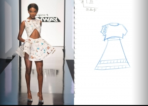 Project Runway Season 14 Episode 7 Sketches