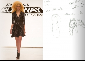 Project Runway All Stars Season 5  Episode 1 Sketches