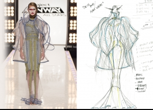 Project Runway All Stars Season 5  Episode 11 Sketches