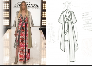 Project Runway All Stars Season 5  Episode 12 Sketches