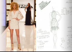 Project Runway All Stars Season 5  Episode 3 Sketches