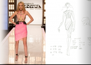 Project Runway All Stars Season 5  Episode 4 Sketches