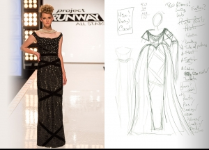 Project Runway All Stars Season 5  Episode 6 Sketches