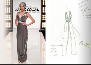 Project Runway All Stars Season 5  Episode 7 Sketches